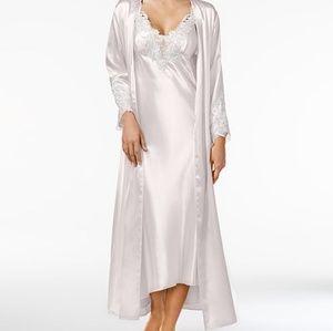 Flora Nikrooz Stella ivory bridal peignoir set XL